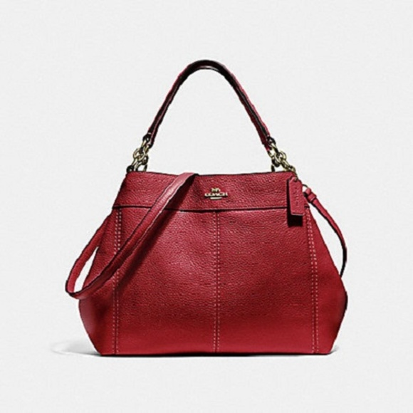 d66dcbccc002 COACH F28992 Ruby PEBBLED LEATHER SMALL LEXY